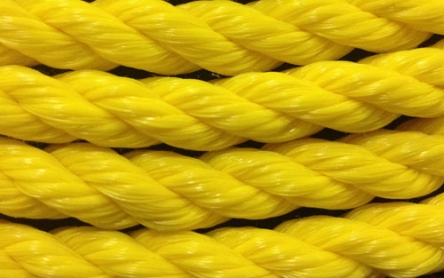 Yellow Twisted Polypropylene