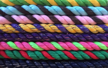 3 Strand Twisted Cotton (hot colors)
